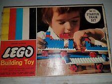 Vintage Lego Starter Train set. #111