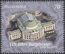 Austria 2013 Burgtheater, Viena/Teatro/edificios arquitectura/1v (at1160)