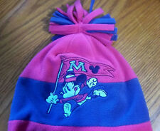 Genuine Disney Unique Children's Mickey Mouse Beanie, Knit Hat Cap, W/ Tassels