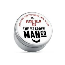 Beard Balm 75g Rio Conditioner Conditioning Grooming Male Moisturiser Vegan