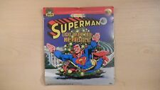 "SEALED Peter Pan Records ""SUPERMAN Light Up The Tree Mr. President"" 45 RPM"
