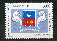STAMP / TIMBRE DE MAYOTTE N° 43 ** ARMOIRIES DE MAYOTTE
