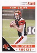 2011 Score Glossy #308 Andy Dalton Cincinnati Bengals RC