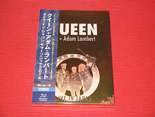 QUEEN ADAM LAMBERT LIVE IN JAPAN 2014   JAPAN BLU-RAY + CD SET
