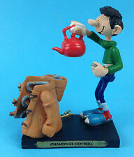 Gaston Lagaffe CHAUFFAGE CENTRAL  Franquin 2004 figurine BD comic