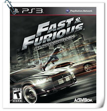 PS3 SONY PlayStation Fast & Furious: Showdown Activision Racing