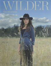WILDER  by KIM HARGREAVES knitting pattern book