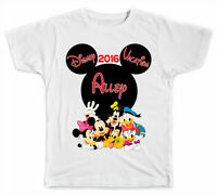 Personalized Disney Mickey Head with Mickey and Pals T-Shirt