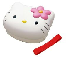 Sanrio Hello Kitty Plastic Lunch Bento Box w/ Belt #5966