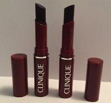 2*Clinique Almost Lipstick in Black Honey Sample Size