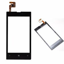 Black Front Touch Screen Glass Panel Digitizer for Nokia Lumia 520 New