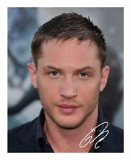 TOM HARDY AUTOGRAPHED SIGNED A4 PP POSTER PHOTO
