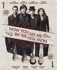 NOW YOU SEE ME BLU-RAY+HD ULTRAVIOLET STEELBOOK! BEST BUY EXCLUSIVE! New
