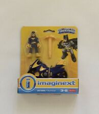 NIB Fisher-Price Imaginext DC Super Friends Batgirl Action Figure and Cycle