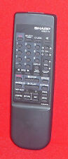 ORIGINAL GENUINE SHARP TV VIDEO VCR REMOTE CONTROL G1294PESA