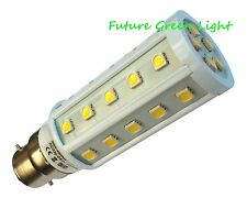 B22 35 SMD LED 240V 6.5W 530LM WHITE CORN BULB ~60W