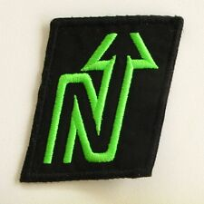 Ancien écusson NORDICA vert Fluo  - Skis  - Collector - Noir et Vert