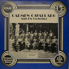 "CARMEN CAVALLARO AND HIS ORCHESTRA   12""  LP (P520)"