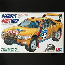 1/24 Peugeot 405T 16GR 90 Paris-Dakar Rally Winner Tamiya 田宮 標緻 camel