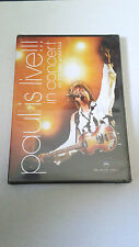 "PAUL McCARTNEY ""LIVE!!! IN CONCERT ON THE NEW WORLD TOUR""  DVD PRECINTADO SEALED"