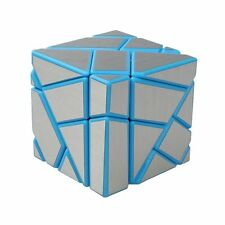 Blue-Silver Ghost Cube 3x3 Puzzle Cube Magic Cube Pack of 1