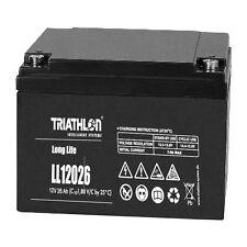 Triathlon Long Life AGM Batterie 12Volt 26AH wartungsfrei verschlossen VLRA Akku