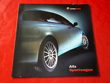 ALFA ROMEO 156 Sportwagon Zubehör Prospekt von 2000