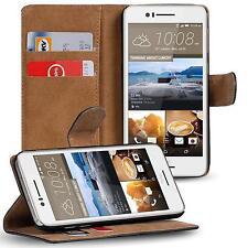 Klapptasche für HTC Desire 728g Handy Hülle Case Flip Cover Wallet Schutz Etui