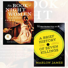 Marlon James 2 Books Collection Set (The Book of Night Women)Paperback New Pack