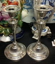 Pair of Dominick and Haff Sterling Silver Candlesticks Circa 1899