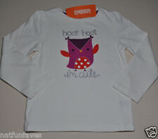 Gymboree toddler girl im cute owl graphic tee shirt size 2 2T NWT top hoot hoot