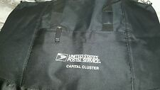 Large USPS Black Tote bag carry-all- new Capital cluster