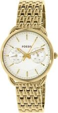 Fossil Women's Tailor ES3714 Gold Stainless-Steel Quartz Watch