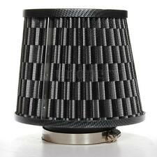 Universal Carbon Finish Car Air Filter Induction Kit High Power Sports Mesh Cone