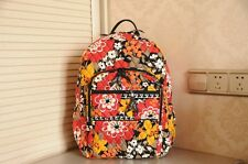 NWT VERA BRADLEY Campus Backpack in Bittersweet Print  ~~~free shipping~~~