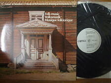 CAP 1123 Various Artists - Music In Sweden 2 - 1977 LP