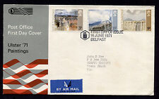 1971 Britain Belfast Ulster 71 Paitings FDC