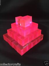 Transformers Masterpiece Scale Energon Cubes - G1 Pink
