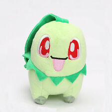 Mini Vivid Pokemon Go Chikorita Stuffed Figure Plush Doll Toy Birthday Gift