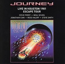 """JOURNEY """"Live in Houston 1981: Escape Tour"""" CD NEW/SEALED!"""