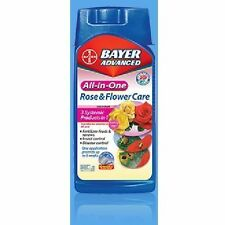 Bayer All-In-One Rose & Flower Care 32 oz systemic fertilizer insecticide food