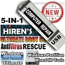 Hiren's Boot Disc 15.2 - Computer Repair - Password Reset -  USB Flash Drive