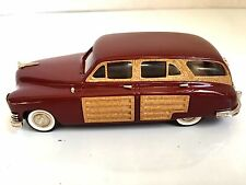THE BROOKLIN COLLECTION BRK 43B 1948 PACKARD EIGHT WOODY 'MAROON METALLIC' NIB