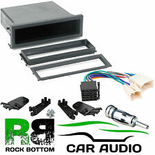 TOYOTA Starlet 1985 to 1999 Car Stereo Radio Universal DIN E Fascia Pocket Kit