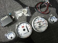 94-01 Acura Integra Automatic LS RS GS 7 Color Cluster LED Glow Gauges 8K RPM
