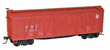 Accurail HO Scale 40' O.B. Wood Boxcar Kit - Central RR of New Jersey #12136