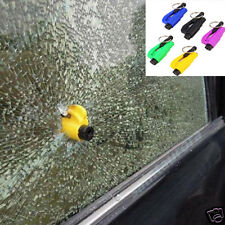 Mini Safety Keychain Car Emergency Rescue Glass Breaker Hammer Escape Tool New