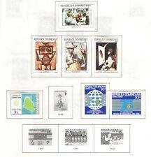 Q2305 - DOMINICANA - 1980 - COLLEZIONE * LINGUELLATA - VEDI FOTO
