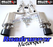 Milltek Audi RS4 B7 Exhaust Cat Back Resonated & Valves Black Tips SSXAU221 & EC