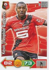 KEVIN THEOPHILE CATHERINE # STADE RENNAIS CARD PANINI ADRENALYN 2012